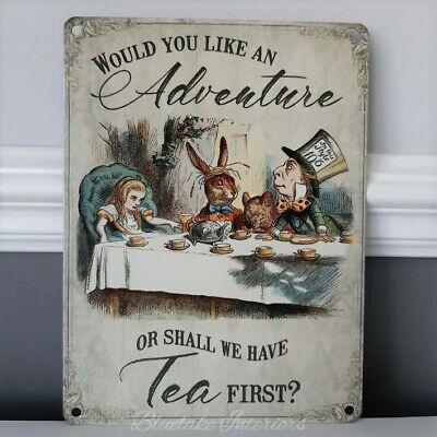 Alice in Wonderland Signs (Lrg)