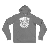 Squats Don't Hurt Your Knees, Cupcakes Do Premium Hoodie
