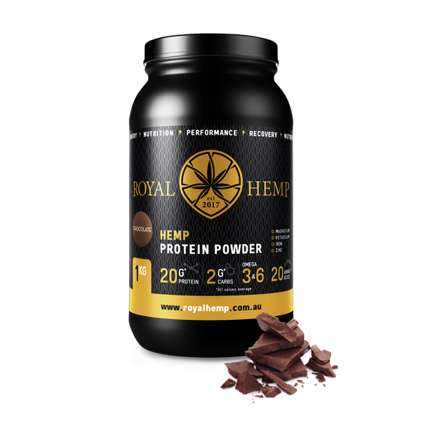 Hemp Protein Powder 1kg (Flavoured)