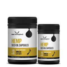 Load image into Gallery viewer, Hemp Seed Oil Softgels (1000mg)