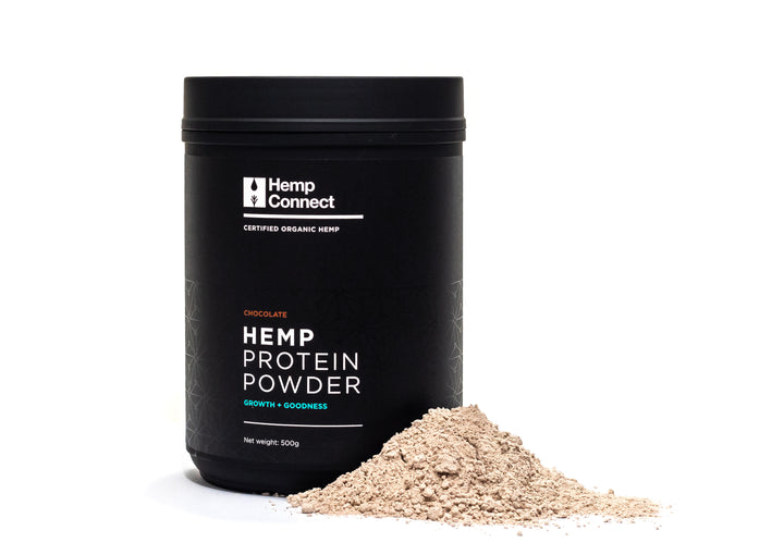 Flavoured Hemp Protein Powder