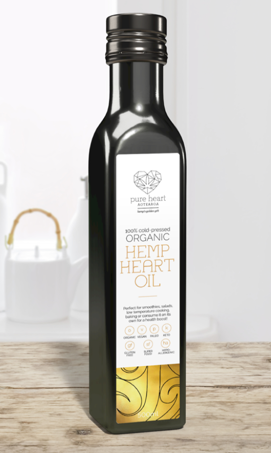 Organic Hemp Heart Oil