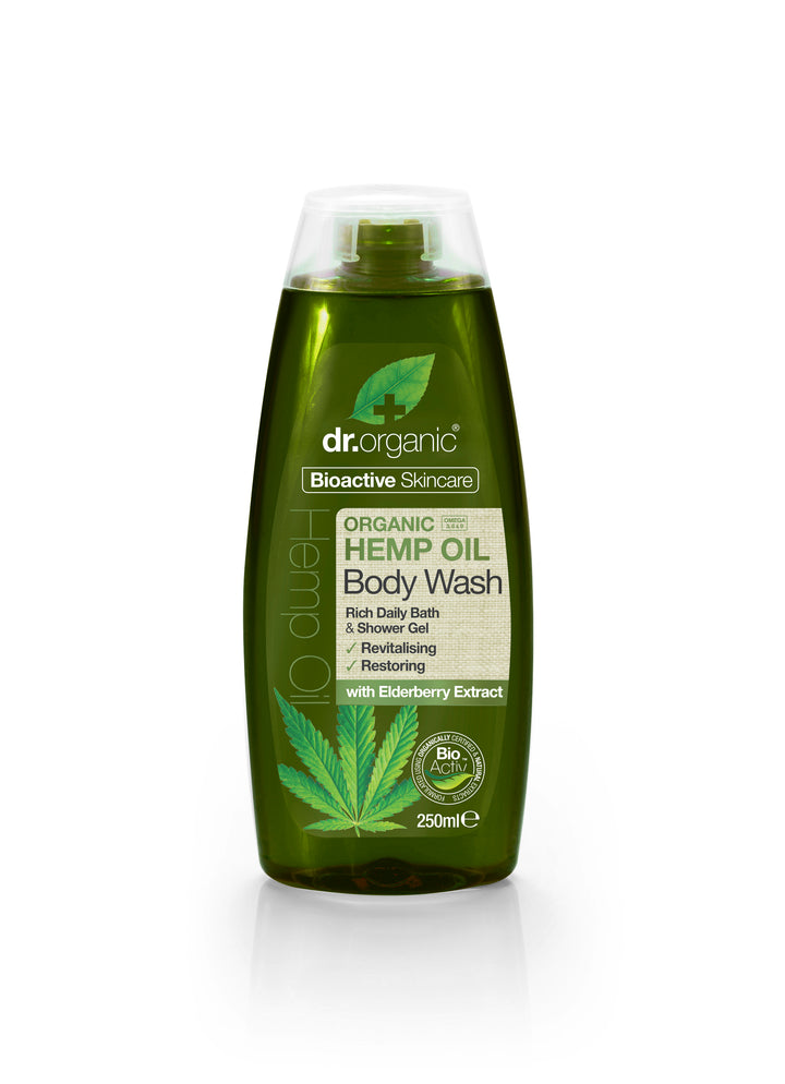 Organic Hemp Seed Body Wash