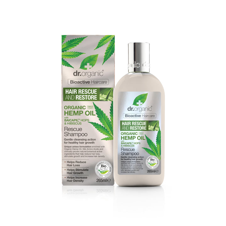 Organic Hemp Seed Oil Rescue Shampoo