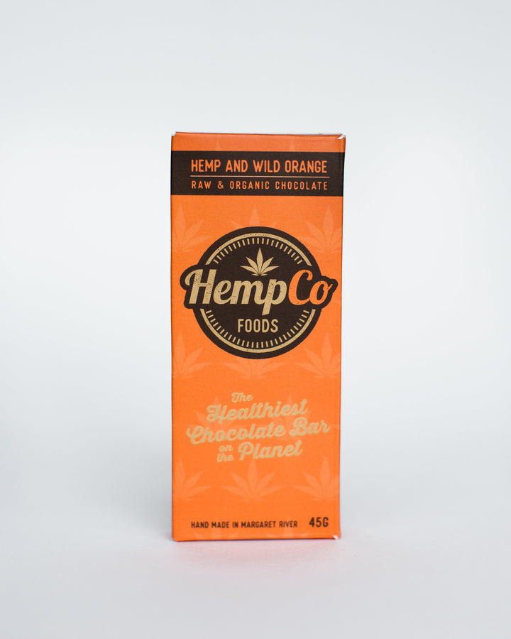 Hemp & Wild Orange Chocolate