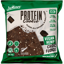Load image into Gallery viewer, Vegan Hemp Protein Cookie - Choc Fudge