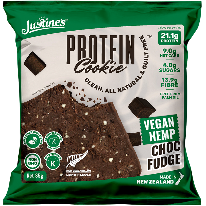 Vegan Hemp Protein Cookie - Choc Fudge