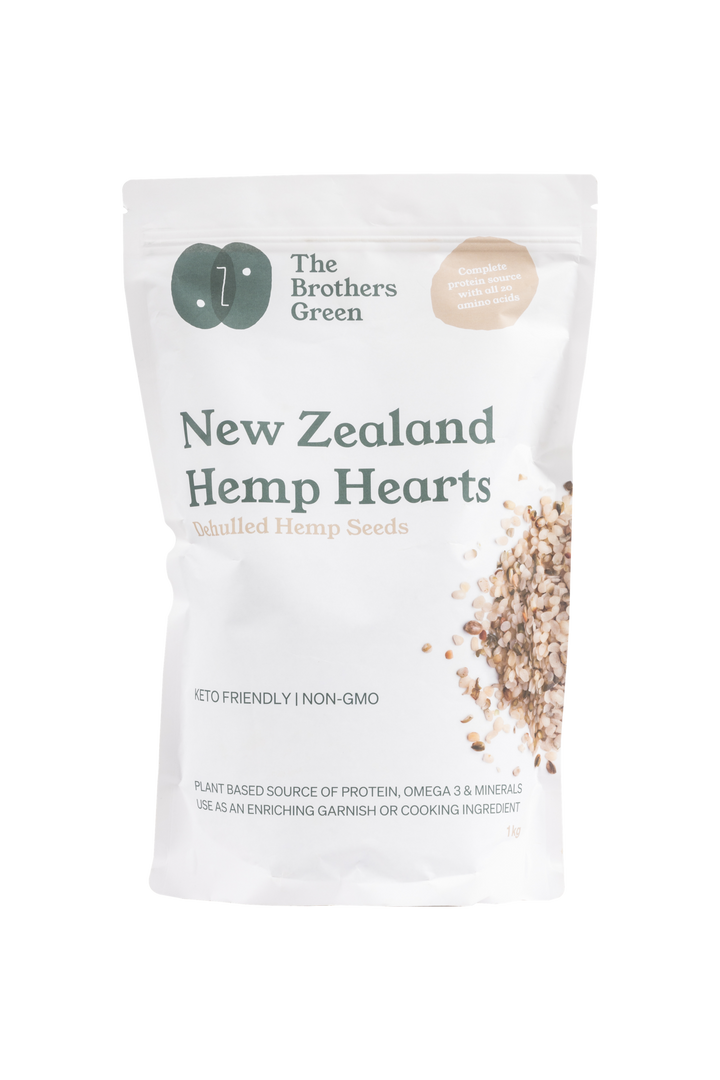 NZ Hemp Seed Hearts
