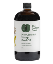 Load image into Gallery viewer, New Zealand Hemp Seed Oil