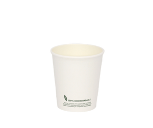 6oz Biodegradable Paper Cup (Single Wall) - 50 Pack