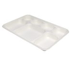7 Compartment Bagasse Plate - 50 Pack