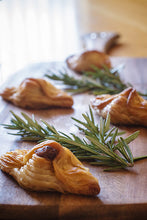 Load image into Gallery viewer, Lovely Lamb Rosemary & Mint Pastizzi - 12 pack of (80g Jumbo) or (30g Canape) Available - Kiss Kiss Artisan Foods