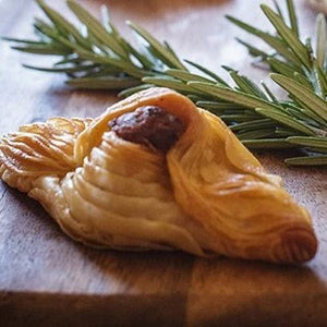 Lovely Lamb Rosemary & Mint Pastizzi - 12 pack of (80g Jumbo) or (30g Canape) Available - Kiss Kiss Artisan Foods