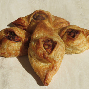 Luscious Chicken & Leek Pastizzi - 12 pack of (80g Jumbo) or (30g Canape) Available - Kiss Kiss Artisan Foods