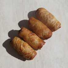 Load image into Gallery viewer, Merguez Lamb Zoppi  (Gourmet Sausage Roll) - Kiss Kiss Artisan Foods
