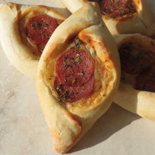 Load image into Gallery viewer, Mini Pepperoni Pide - 6 pack - Kiss Kiss Artisan Foods