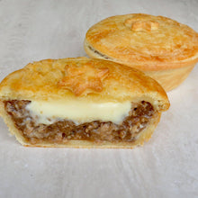 Load image into Gallery viewer, Beef and Camembert Lunch Pie - Kiss Kiss Artisan Foods