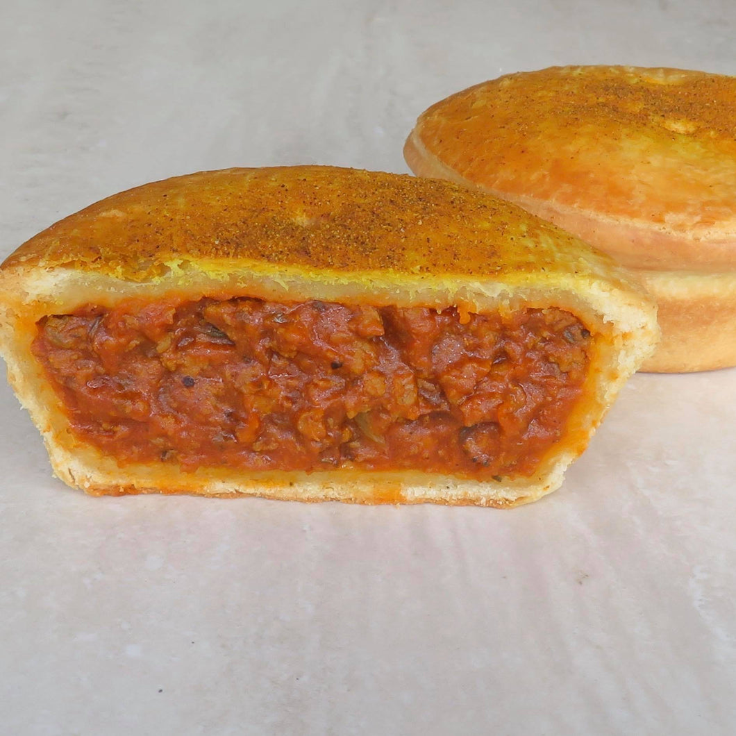 Maltese Tomato Beef Curry Pie - Kiss Kiss Artisan Foods