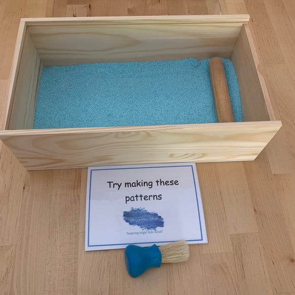 Sand writing tray