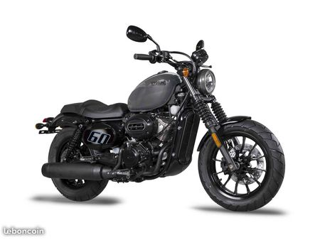 HYOSUNG AQUILA GV125 V-TWIN CRUSIER - GREY