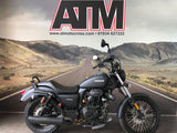 SINNIS HOODLUM 125cc CRUISER - BLACK