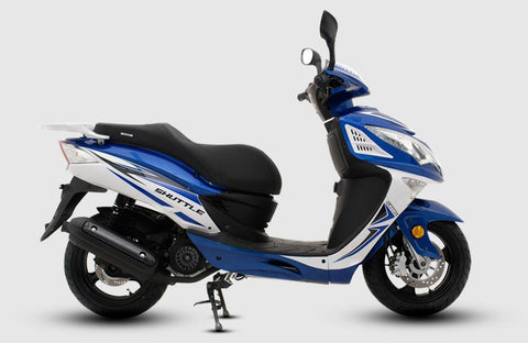SINNIS SHUTTLE 125CC - BLUE