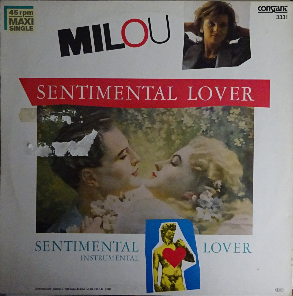 Milou ‎– Sentimental Lover