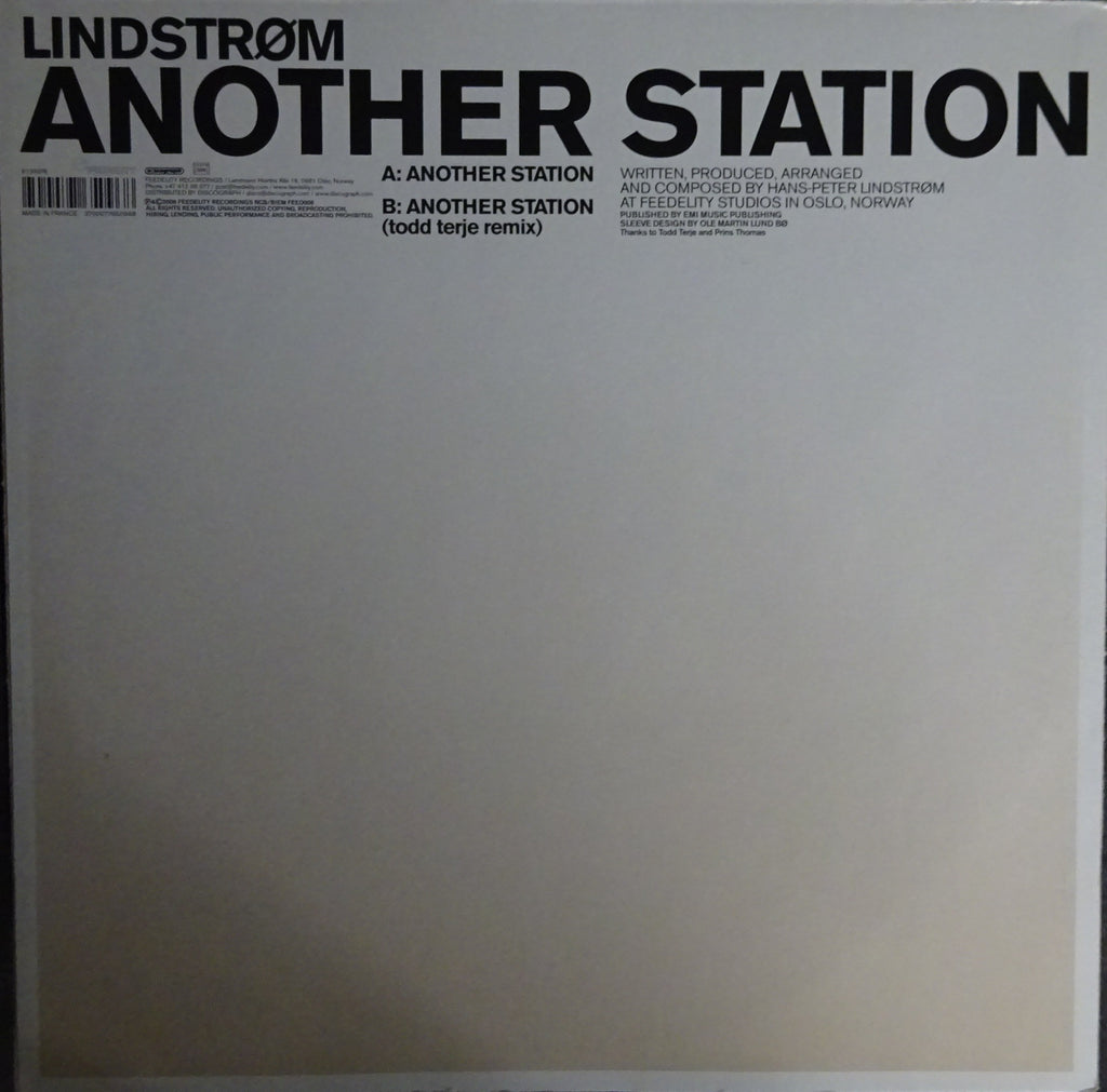 Lindstrøm ‎– Another Station