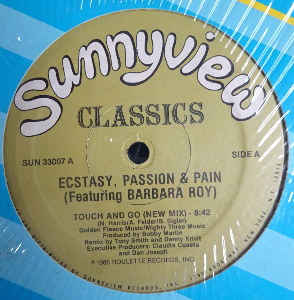 Ecstasy, Passion & Pain Featuring Barbara Roy ‎– Touch And Go