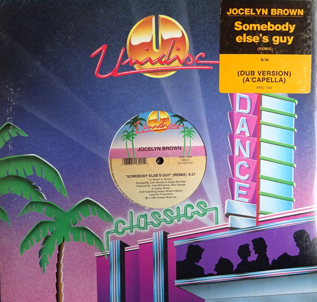 Jocelyn Brown ‎– Somebody Else's Guy