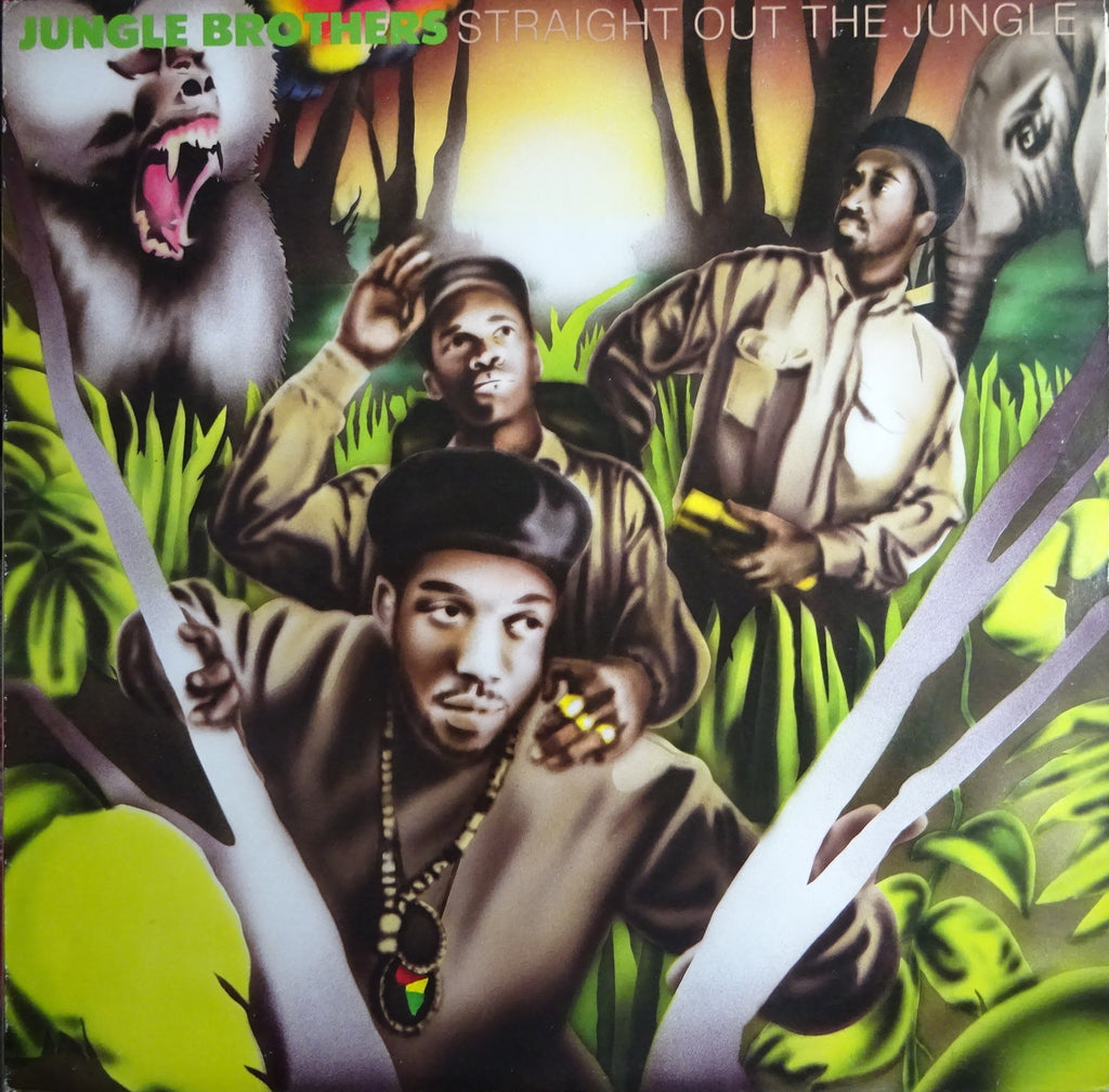 Jungle Brothers ‎– Straight Out The Jungle
