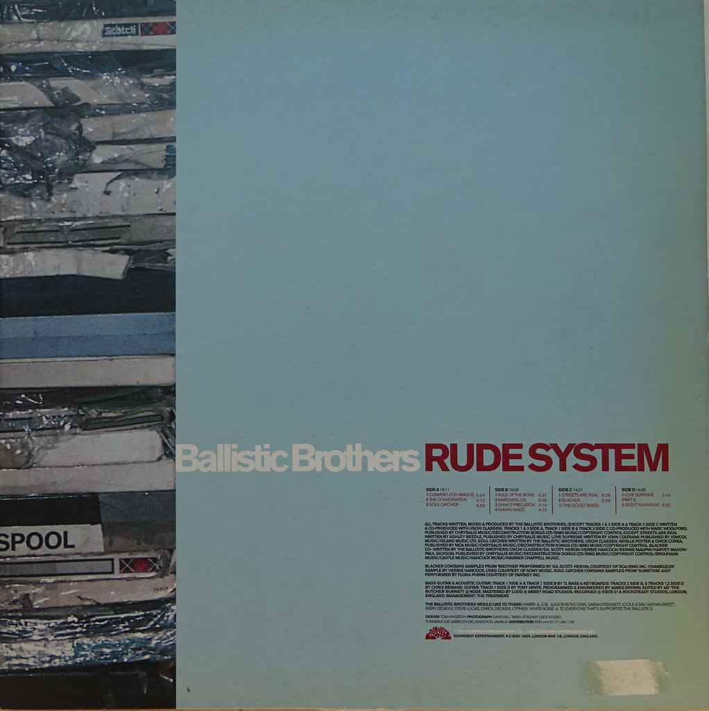 Ballistic Brothers ‎– Rude System