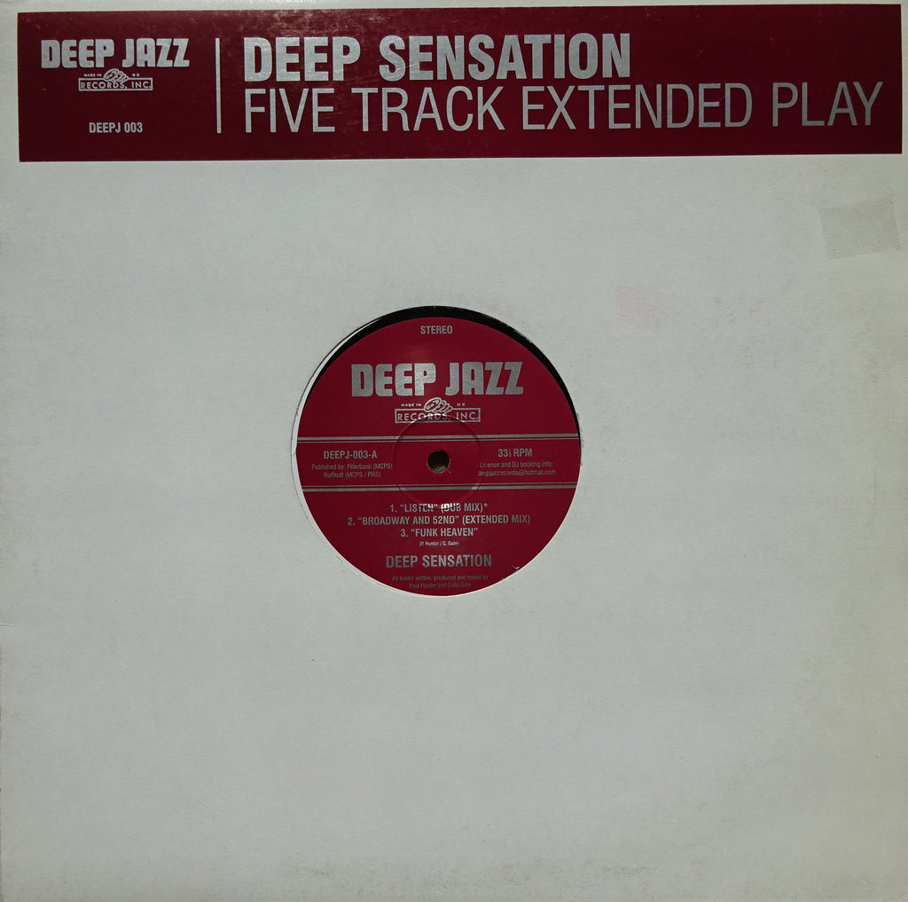 Deep Sensation ‎– Five Track Extended Play