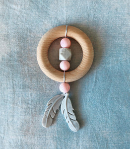 Dreamcatcher Teether - Rose