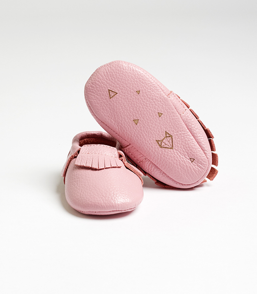 Pink Nuna Leather Moccasins