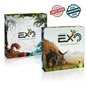 EXO Board Game Great Adventurer (All-in) + Expansion