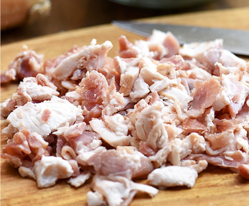 Pasture Raised NON-GMO Pork, Bacon Ends and Pieces 1lbs