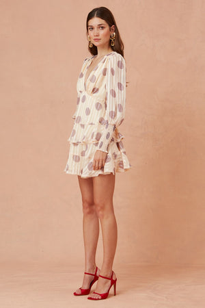 Oblivion Long Sleeve Mini Dress