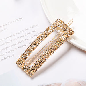 Gold Metal Hairclip