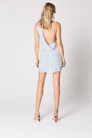 Tempo Mini Dress - Blue