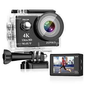 ZONKO? Yes, Zonko 4K Action Cam on Sale 70% Off! Five Star Reviews.