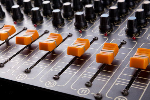 audio mixers for recording and editing