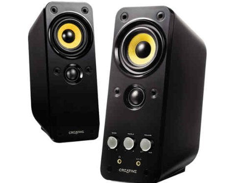 Creative Labs 51MF1610AA002 GigaWorks T20 Series II 2.0 Multimedia Speaker System with BasXPort Technology - VideoBizAzon Store