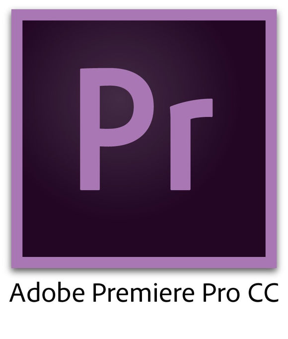 Adobe Premiere Pro CC | 1 Year Subscription (Download) - VideoBizAzon Store