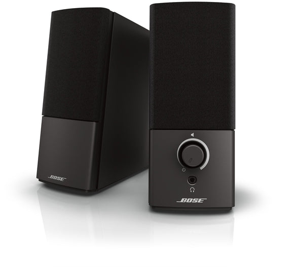 Bose Companion 2 Series III Multimedia Speakers - for PC (with 3.5mm AUX & PC input) - VideoBizAzon Store