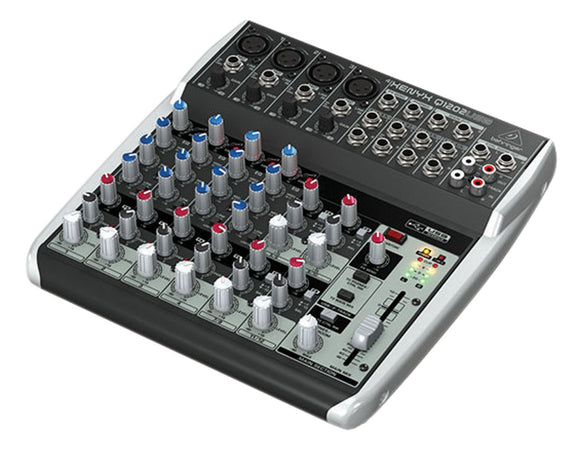 Behringer Q1202USB 12-Channel Mixer - VideoBizAzon Store