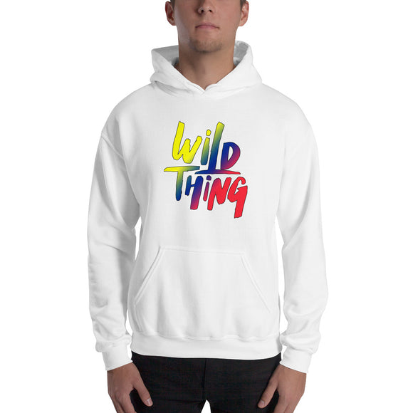 Wild Thing Short-Sleeve Unisex Hooded Sweatshirt up to 5XL - VideoBizAzon Store