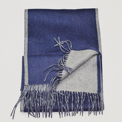 100% Organic Classic Cashmere Scarves - Dual Color