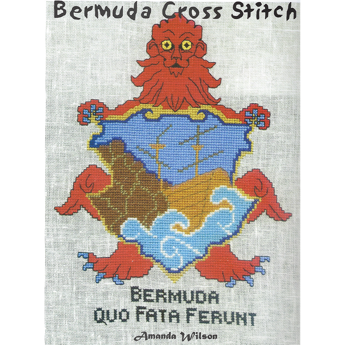 Book: Bermuda Cross Stitch Volume 1 - Hand Made (Bermuda) Ltd