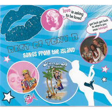 Load image into Gallery viewer, CD: Best of Tony B: Songs From the Island - Hand Made (Bermuda)